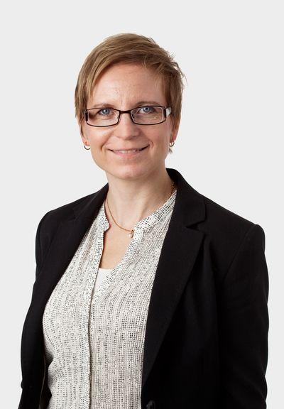 Fastighetsmäklare Carina Andersson