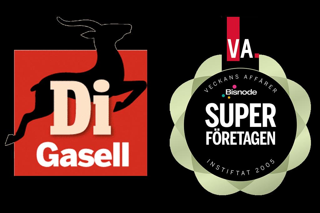 Logotyp Gasellföretag och Superföretag